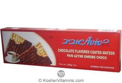 Aviv Kosher Chocolate Flavored Coated Matzos 7 OZ
