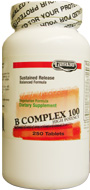 Landau Kosher B Complex 100 Sustained Release 500 Tablets