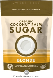 Big Tree Farms Kosher Organic Coconut Palm Sugar Blonde 16 OZ