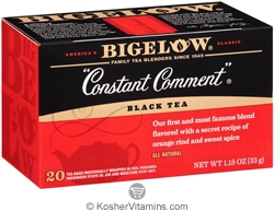 Bigelow Kosher Constant Comment Black Tea 20 Tea Bags