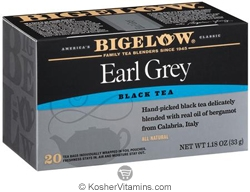 Bigelow Kosher Earl Grey Black Tea 20 Tea Bags