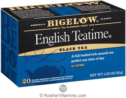 Bigelow Kosher English Teatime Black Tea 20 Tea Bags