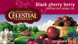 Celestial Seasonings Kosher Black Cherry Berry 20 Bag