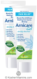 Boiron Arnicare Gel Twin Pack 2.6 OZ