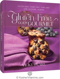 Book Gluten-Free Goes Gourmet by Vicky Pearl 1 Book