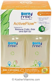 Born Free Kosher Active Flow Eco Deco  2 Bottles