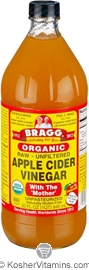 Bragg Kosher Apple Cider Vinegar Raw Organic 32 OZ