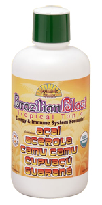 Dynamic Health Kosher BrazilianBlast Tropical Tonic 32 Oz.