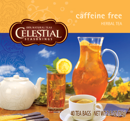 Celestial Seasonings Kosher Caffeine-Free Tea 40 Bags