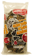 Landau Kosher Natural Carob Rice Cakes 6 Cakes