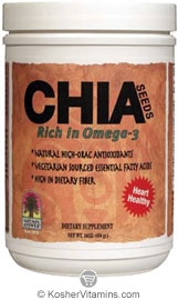 Natures Answer Kosher Chia Seeds 16 OZ