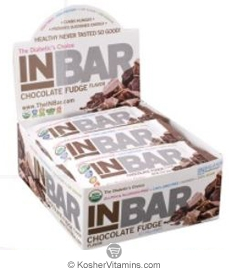 In Balance Kosher InBar For Weight & Glucose Management Protein Bar Chocolate Fudge 12 Bars