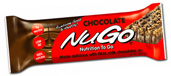 NuGo Nutrition Kosher Nutrition To Go Protein Bar Chocolate - Dairy 15 Bars