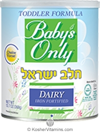 Natures One Kosher Baby's Only Organic Toddler Formula Dairy Cholov Yisroel Iron Fortified 12.7 OZ