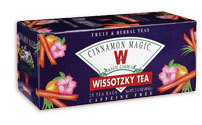 Wissotzky Tea Cinnamon Magic - Kosher for Passover 20 Tea Bags