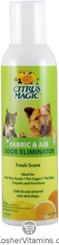 Citrus Magic Pet Fabric & Air Odor Eliminator 8 OZ