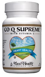Maxi Health Kosher Co Q Supreme Coenzyme Q-10 100 Mg. 60 Vegicaps
