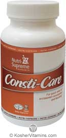 Nutri-Supreme Research Kosher Consti-Care (Compare To Dicon)  60 Vegetarian Capsules