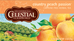 Celestial Seasonings Kosher Country Peach Passion 20 Bag