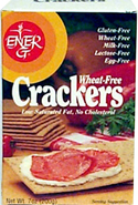 Ener-G Foods Kosher Gourmet Crackers Wheat & Gluten Free 7 OZ
