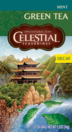 Celestial Seasonings Kosher Decaf Mint Green Tea 20 Bags