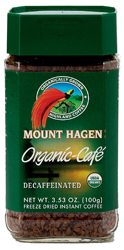Mount Hagen Kosher Organic Coffee Decaffeinated 3.53 OZ