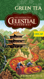 Celestial Seasonings Kosher Decaffeinated Green Tea 20 Bags