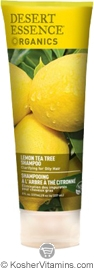 Desert Essence Shampoo Lemon Tea Tree 8 OZ