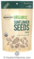 Woodstock Kosher Organic Sunflower Seeds Hulled 12 OZ