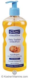 Dr. Fischer Kosher Sensitive Baby Tearless Shampoo 15 OZ