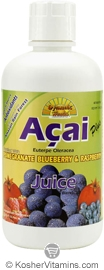 Dynamic Health Kosher Acai Plus Juice Blend 32 OZ