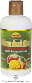 Dynamic Health Kosher African Bush Mango Juice Blend 32 OZ