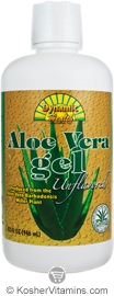 Dynamic Health Kosher Aloe Vera Gel Unflavored 32 OZ