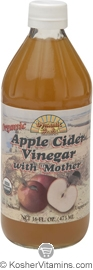 Dynamic Health Kosher Apple Cider Vinegar with Mother Organic 16 OZ