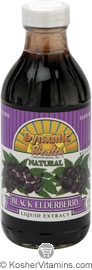 Dynamic Health Kosher Black Elderberry Liquid Superfruit Tonic 8 OZ