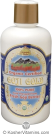 Dynamic Health Kosher Goji Gold 100% Pure Juice Organic 16 OZ