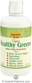 Dynamic Health Kosher Healthy Greens Juice Blend 32 OZ