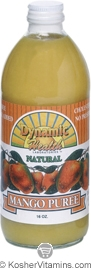 Dynamic Health Kosher Mango Puree 16 OZ