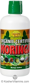 Dynamic Health Kosher Moringa Juice Blend Organic 33.8 OZ