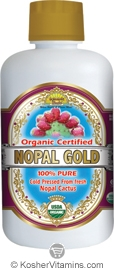 Dynamic Health Kosher Nopal Gold Pure Juice Organic 32 OZ