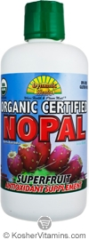 Dynamic Health Kosher Nopal Juice Blend Organic 33.8 OZ
