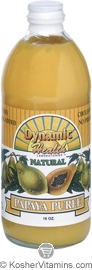 Dynamic Health Kosher Papaya Puree 16 OZ