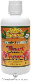 Dynamic Health Kosher Tart Cherry Juice Concentrate Organic 32 OZ