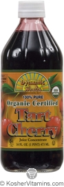Dynamic Health Kosher Tart Cherry Juice Concentrate Organic 16 OZ