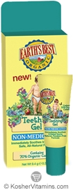 Earth's Best Teething Gel (Non-Medicated) 0.33 OZ