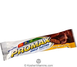 Promax Kosher Energy Bar Nutty Butter Crisp Dairy 12 Bars