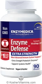 Enzymedica Kosher Enzyme Defense Extra Strength Immune