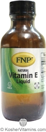 Freeda Kosher FNP Vitamin E Liquid 1 OZ