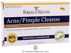 Forces Of Nature Acne/Pimple Cleanse Control Bar Soap 3.5 OZ