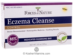 Forces Of Nature Eczema Cleanse Control Bar Soap 3.5 OZ